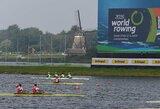 Pasaulio jaunimo irklavimo čempionato paguodos plaukime – brolių Lapatiukų sėkmė
