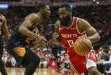 """""""Rockets"""" užfiksavo naują NBA tritaškių rekordą"""