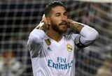 S.Ramosas po pralaimėjimo UEFA Supertaurės finale pasiuntė ypatingą žinutę