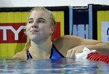 R.Meilutytė Brazilijoje iškovojo pirmą aukso medalį!