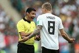 Pasaulio čempionai suvystyti jau pirmose rungtynėse: trys Vokietijos ir Meksikos rungtynių aspektai
