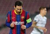 """L.Messi nesutinka su naujomis """"Barcelona"""" siūlomomis sąlygomis"""