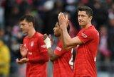 """Nesėkminga diena Vokietijos lyderiams: """"Bayern"""" pralaimėjo, """"Borussia"""" paskutinę minutę įsimušė į savus vartus"""