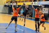 Lietuvos moterų rankinio čempionato starte pergales šventė vilnietės ir klaipėdietės