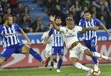 """""""Real"""" ir toliau klysta """"La Ligoje"""" – rungtynių pabaigoje praleido įvartį ir nusileido """"Alaves"""" ekipai"""
