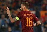 """""""Roma"""" ekipą paliekantis D.De Rossi baigti karjeros neplanuoja"""
