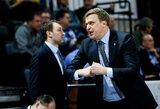 """D.Adomaitis: """"Krepšinis – paprastas žaidimas. Jei esi laisvas, turi pataikyti"""""""
