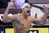 Presitžinėje Europos plaukimo čempionato rungtyje – dvigubas prancūzų triumfas (+ kiti rezultatai)