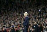 """A.Wengeras nori laimėti Europos lygą, kad aukšta nata pabaigtų """"Arsenal"""" """"meilės istoriją"""""""