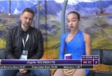 Dailiojo čiuožimo varžybose Slovėnijoje – J.Aglinskytės auksas