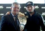 UFC pasiūlė įspūdingą pinigų sumą C.Nurmagomedovui už revanšinę kovą su C.McGregoru, bet ruso tėvas nori dvigubai daugiau