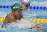 R.Meilutytė metė rimtą iššūkį J.Jefimovai ir plaukė greičiau nei Rio de Žaneire, D.Rapšys ir U.Mažutaitytė pagerino Lietuvos rekordus