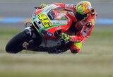 "V.Rossi nekantrauja išvysti ""Ducati"" komandos progresą"