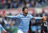 D.Villa pelnė 400-ąjį karjeros įvartį