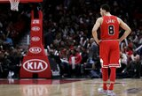 NBA paskelbė minuso žaidimo dalyvius