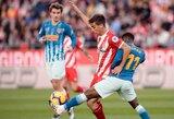 """""""Atletico"""" rungtynių pabaigoje išplėšė lygiąsias su """"Girona"""""""