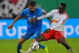 "Vokietijos taurė: T.Werneris pelnė dublį, o ""RB Leipzig"" eliminavo ""Hoffenheim"""
