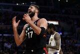 Produktyviai laiką išnaudojantis J.Valančiūnas kėsinasi tapti NBA rekordininku