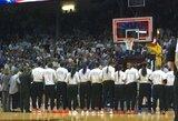 Protestas: skambant JAV himnui WNBA komanda išėjo į rūbinę