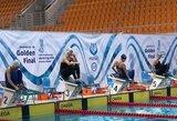 Finaliniame pasaulio plaukimo su pelekais taurės etape geriausiai pasirodė S.Žilinska