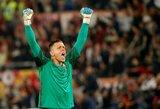 """W.Szczesny atsisveikino su """"Roma"""" klubu"""