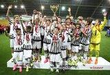 """Iš Lietuvos Turino """"Juventus"""" išvyksta su čempionų taure bei gerais įspūdžiais"""