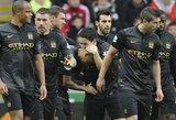 """""""Manchester City"""" klubas Naujuosius metus pradėjo pergalingai, """"Arsenal"""" lieka pirmas"""