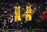 """""""Lakers"""" po """"Nets"""" žinios tirsis nuo koronaviruso"""