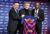 """Barcelonos"" prezidentas: ""Nesigailiu atleidęs E.Valverdę, Q.Setienas liks klube"""