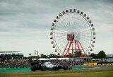 """Taifūnas Japonijoje sujaukė """"Formulės 1"""" lenktynių savaitgalį"""