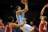 Galingo L.Scola žaidimo argentiniečių pergalei prieš Kroatiją nepakako
