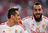 """""""Benfica"""" puolėjų tandemas palaužė """"Vilkus"""""""