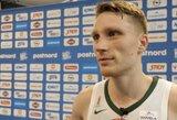 """M.Grigonis po pergalės prieš Rusiją: """"Manau, kad rungtynės buvo nekokios"""""""