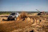 """Pasirodymą """"Baja Poland"""" lenktynėse ankščiau laiko baigė abu lietuviški ekipažai"""