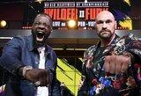 """D.Wilderis įspėjo T.Fury: """"Pirmoje kovoje aš parodžiau mažiau nei 50proc. savo galimybių"""""""