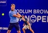 R.Berankis atsisakė žaisti ATP 1000 turnyro Šanchajuje kvalifikacijoje