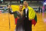Šokėjai A.Kovalevas ir V.Samuolytė tapo pasaulio čempionato finalininkais