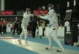 T.Makarovas ir P.Markevičius pasaulio fechtavimo čempionate pasiekė antrąjį atkrintamųjų varžybų etapą