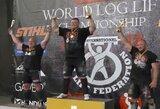 Ž.Savickas – pasaulio rąsto kėlimo čempionas