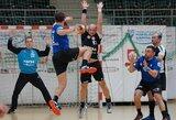Lietuvos vyrų rankinio lygos turnyro lentelės viršuje darosi ankšta