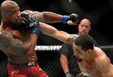 UFC čempionas R.Whittakeris Y.Romero įveikė su lūžusiu nykščiu