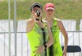 Pasaulio jaunių ir jaunimo čempionato estafetėse – 8 ir 9 vietos