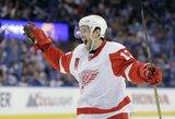 """Keturiolika metų """"Red Wings"""" komandoje žaidęs P.Daciukas baigia karjerą NHL"""