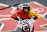 Lietuvos BMX dviratininkai Europos žaidynių atskiro starto lenktynėse nepateko į finalą