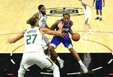 """Per paskutinį kėlinį 18 taškų surinkęs K.Leonardas nulėmė """"Clippers"""" pergalę"""
