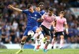 """""""Chelsea"""" toliau barsto taškus: antrajame kėlinyje užmigę F.Lampardo auklėtiniai sužaidė lygiosiomis su """"Leicester City"""""""