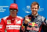 """S.Domenicali: """"F.Alonso ir S.Vettelis galėtų dirbti vienoje komandoje"""""""