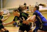 Baltijos moterų rankinio lygos ture Baltarusijoje Lietuvos komandos lieka be pergalių