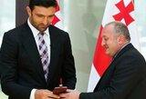 Z.Pachulia Gruzijoje sulaukė ypatingo apdovanojimo iš prezidento rankų