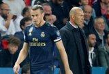 """ESPN: """"Real"""" vadovybė nori, jog Z.Zidane'as atstatytų savo santykius su G.Bale'u"""